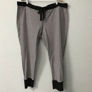 d46660b8d1118 torrid Intimates   Sleepwear - NWOT torrid sleep striped cropped pajama  pants